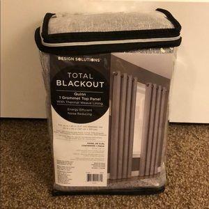 Design solutions total blackout quinn top panel